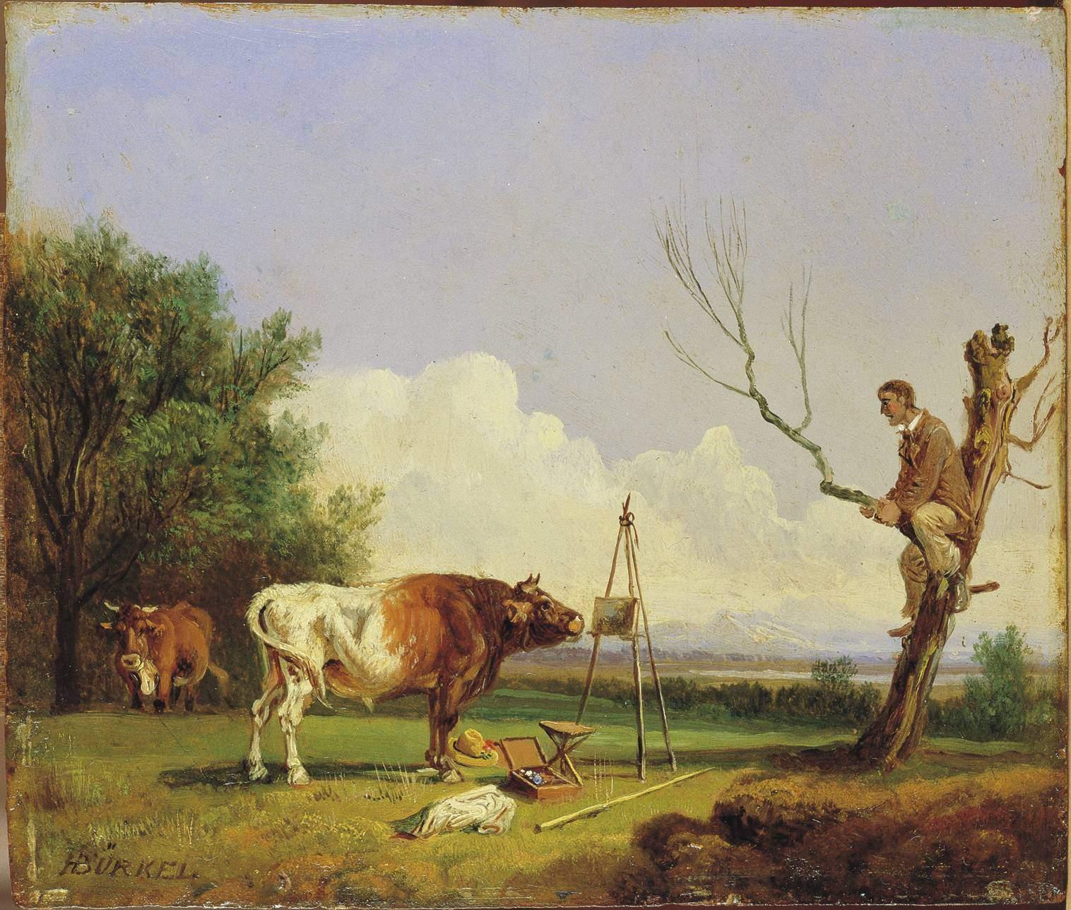 Maler Pirmasens file heinrich bürkel stier und maler jpeg wikimedia commons