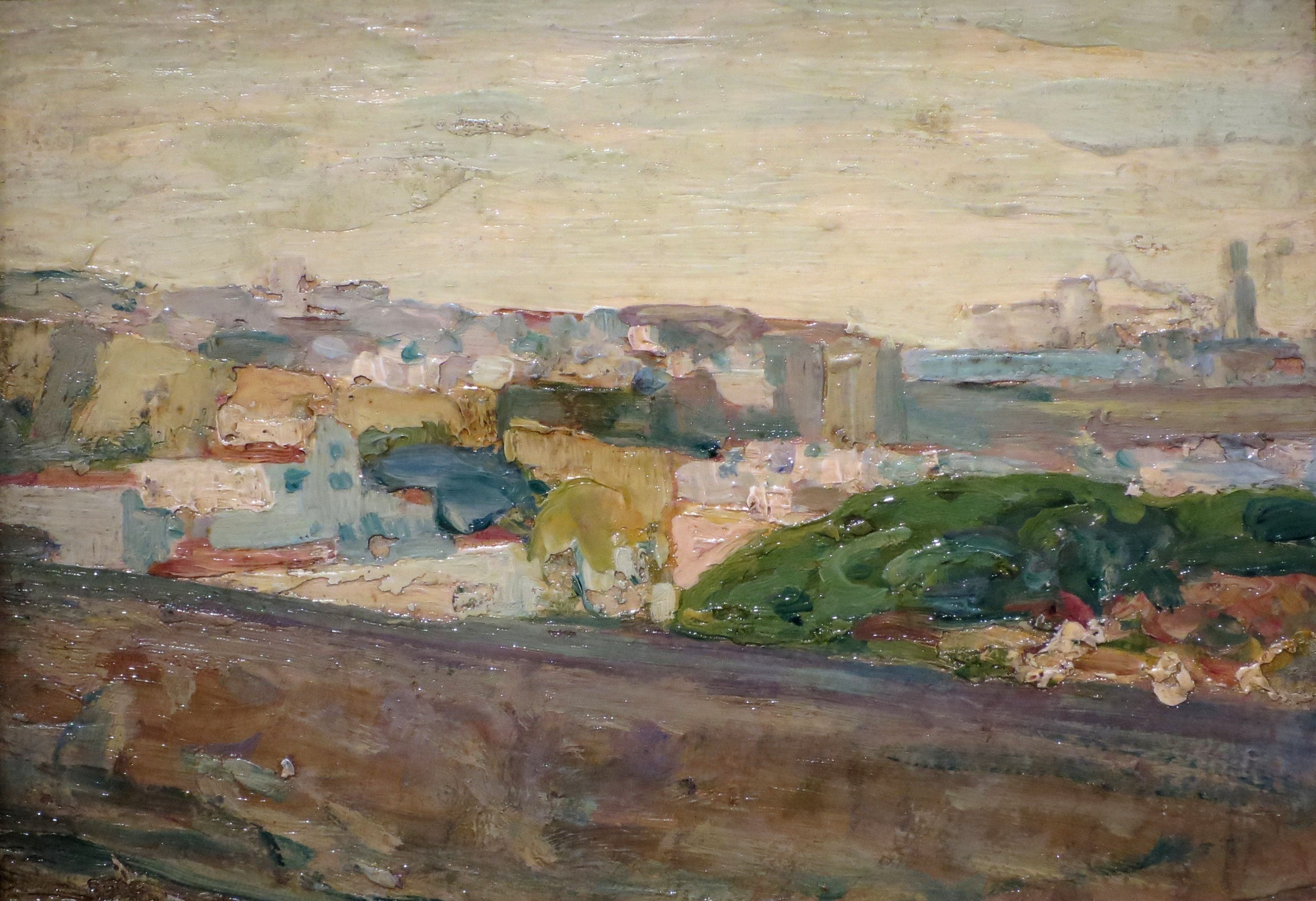 file henry ossawa tanner a view of fez c 1912 high museum jpg
