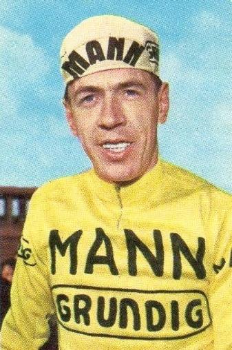 Herman Van Springel en jaune dans le Tour de France