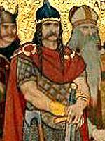 Depiction of Kenneth I de Escocia