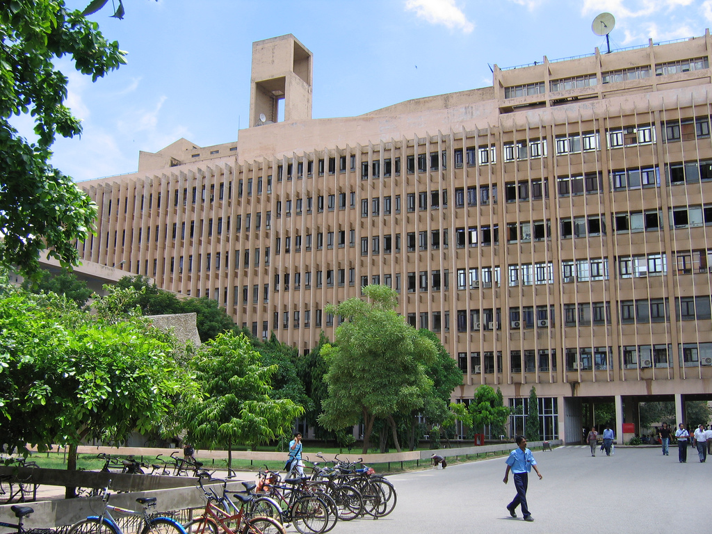 Indian Institute of Technology, Delhi (Photo: Bryn Pinzgauer/ Wikimedia Commons).