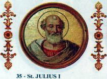 Pope Julius I pope