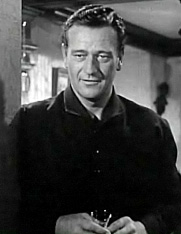 John Wayne en 1948 en a cinta Wake of the Red Witch.