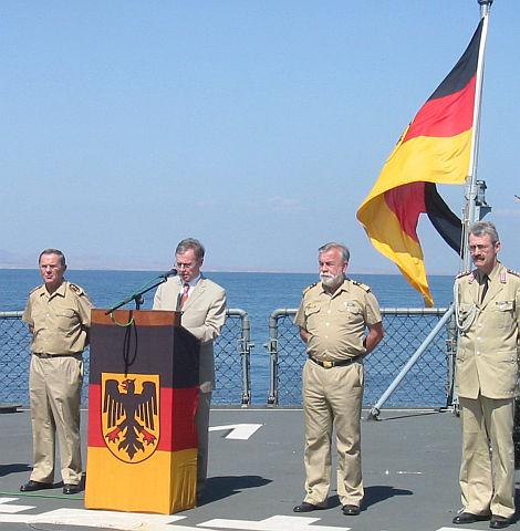Ansprache des Bundespräsidenten Horst Köhler bei einem Auslandseinsatz der Bundeswehr