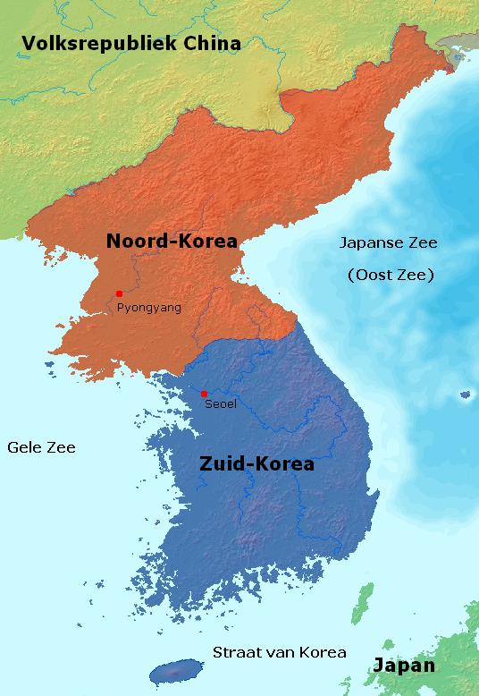 noord korea kaart Korea   Wikipedia