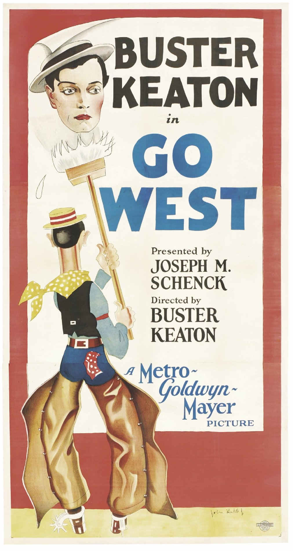 Buster Keaton Los Hotel Room