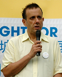 Kenneth Jeyaretnam at a Reform Party rally, Speakers' Corner, Singapore - 20110115.jpg