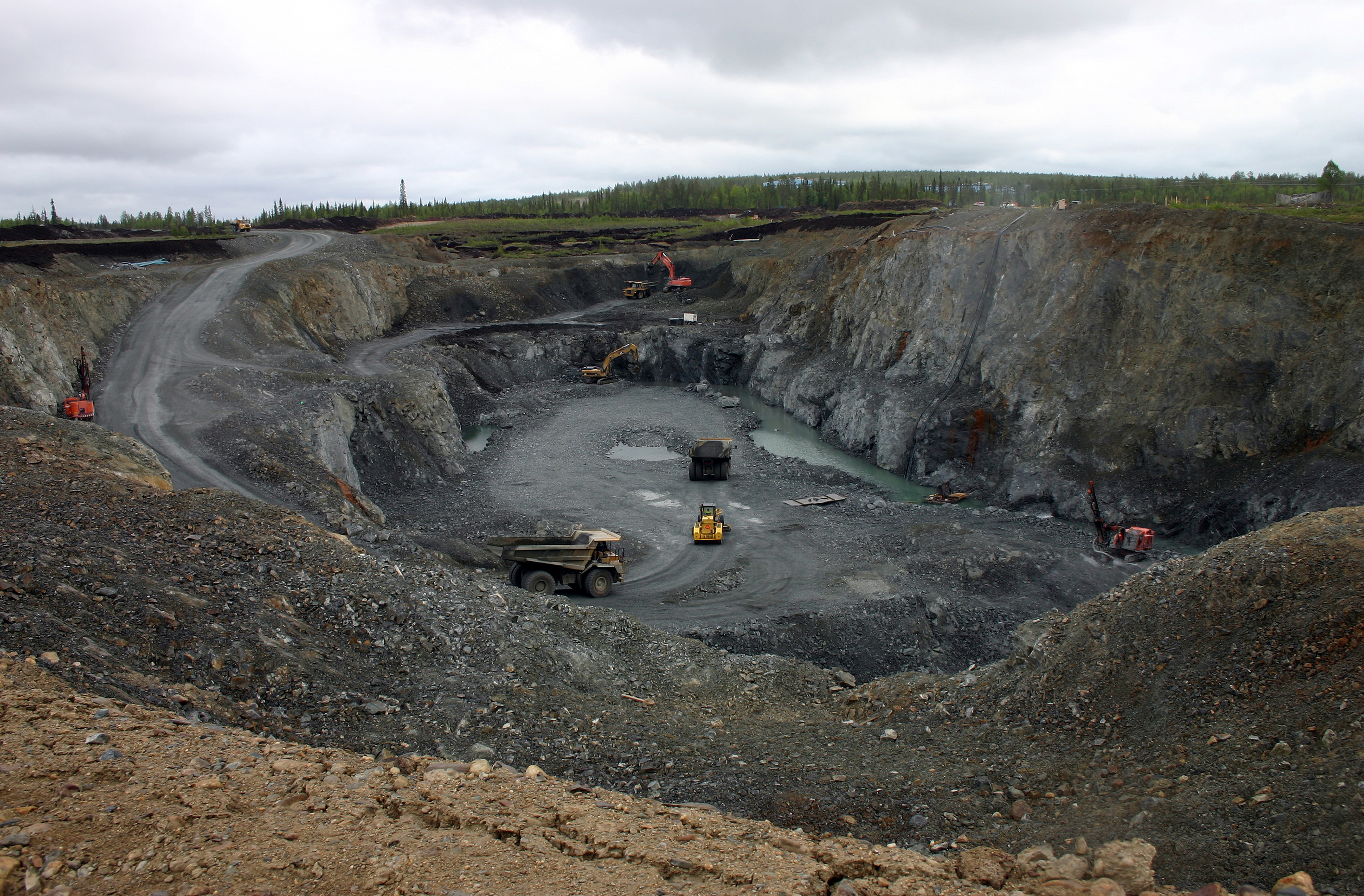 Open Pit Mining Canada Open Pit Mining