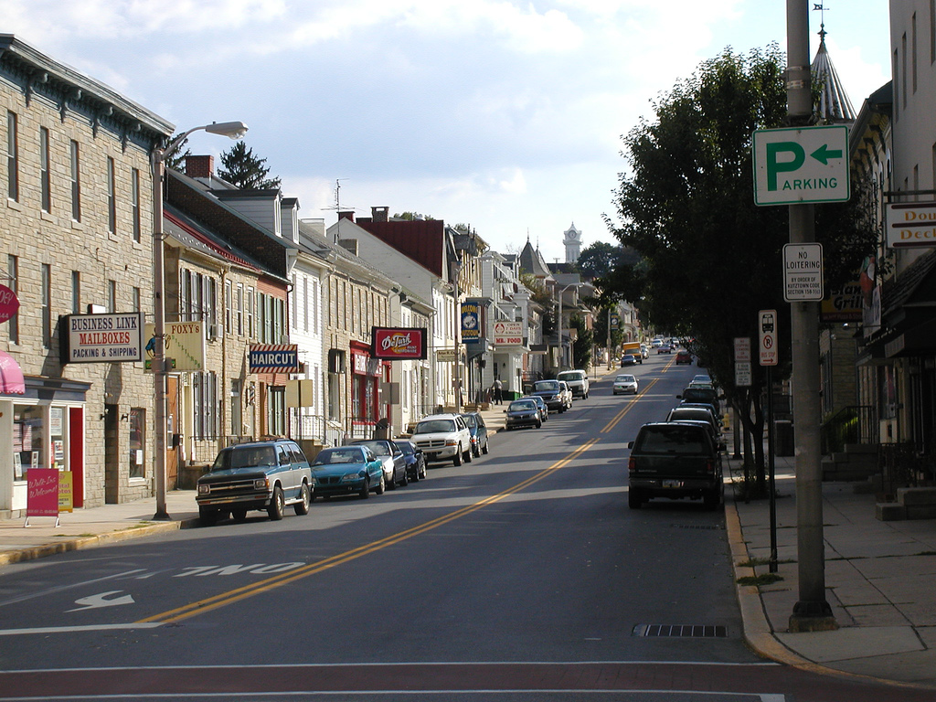 Kutztown – Travel guide at Wikivoyage on