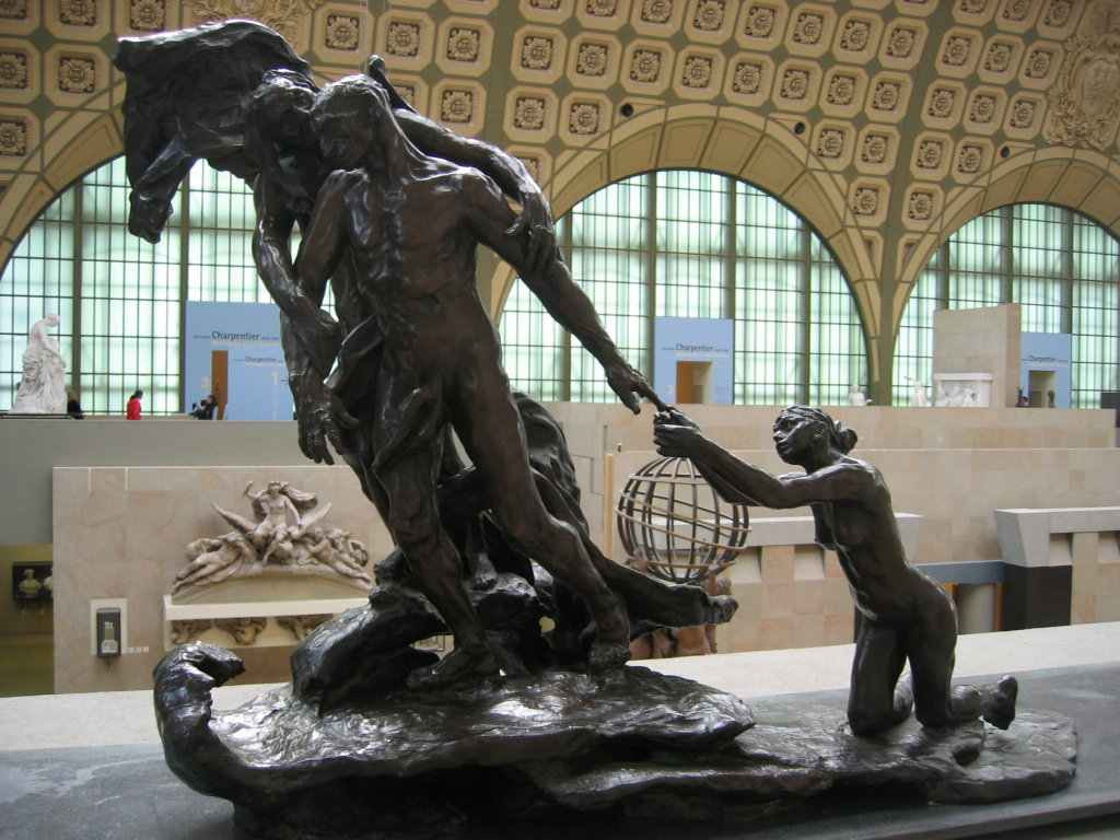 The final version of The Age of Maturity, by Camille Claudel