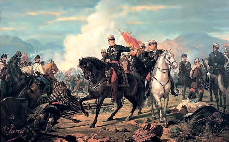 La Batalla de Tetuán, por Dionisio Fierros Álvarez.