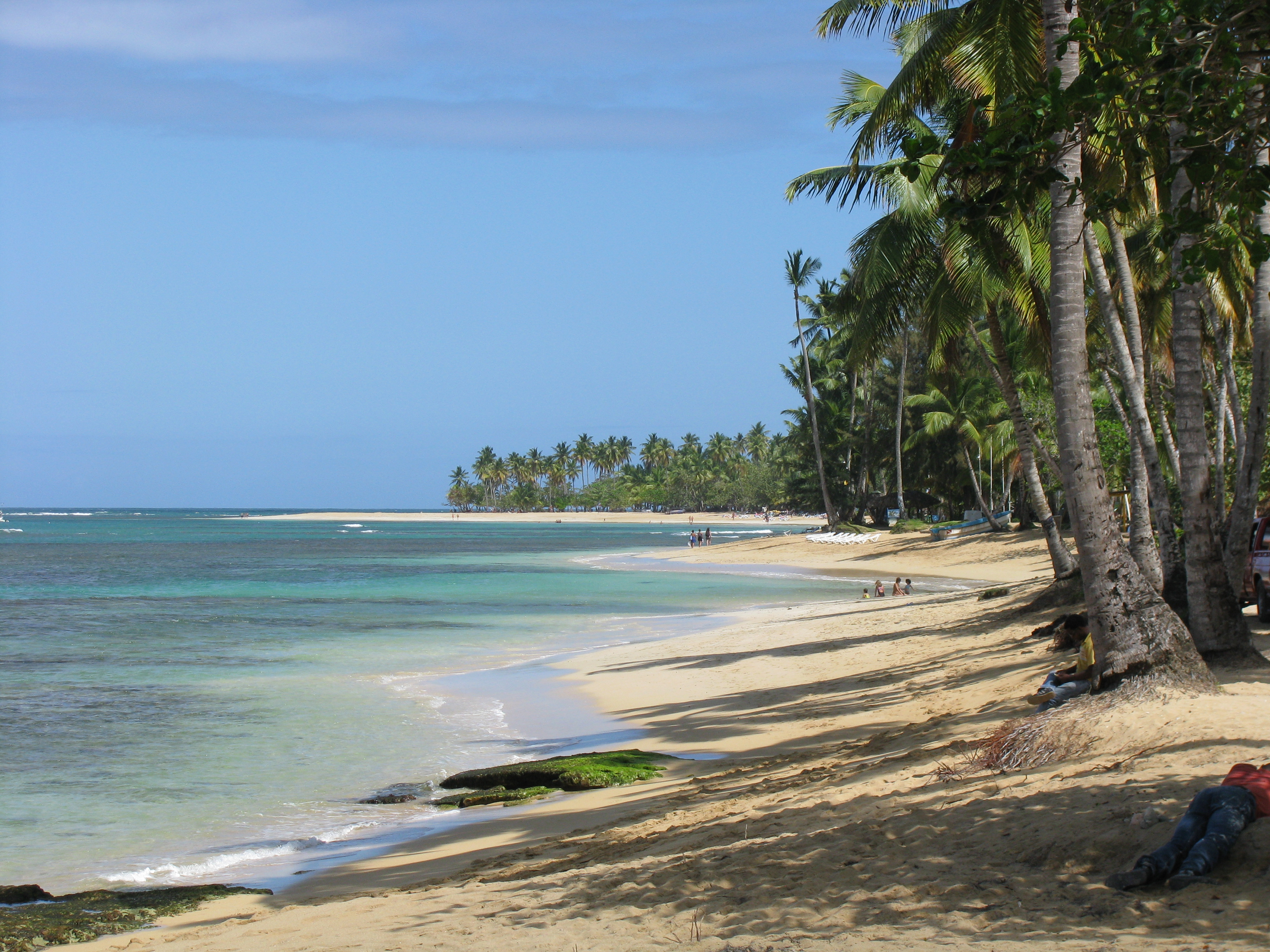 File las terrenas beach 7 jpg for Las terrenas