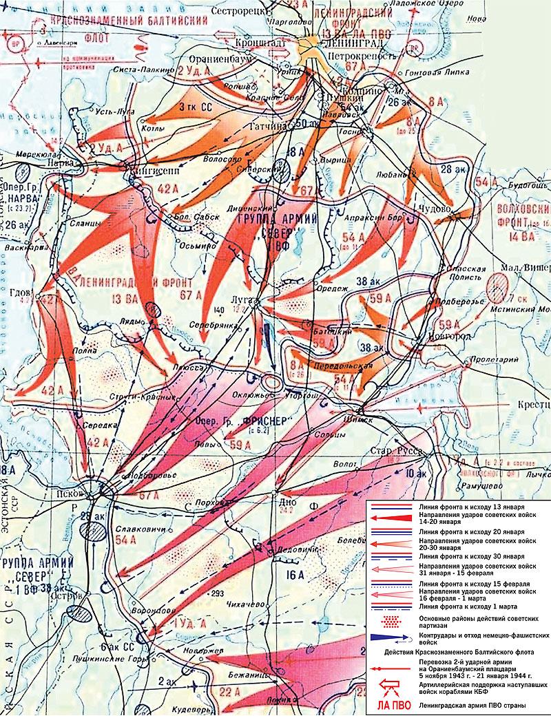 Ofensiva Leningrado-Novgorod