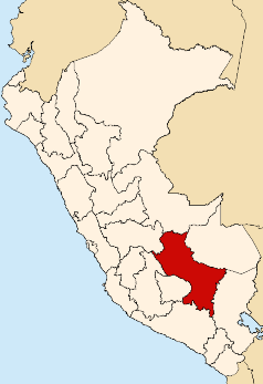 File:Location of Cusco region.png