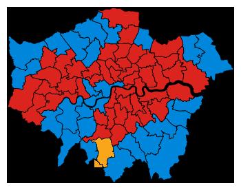 Boris Johnson Constituency Results