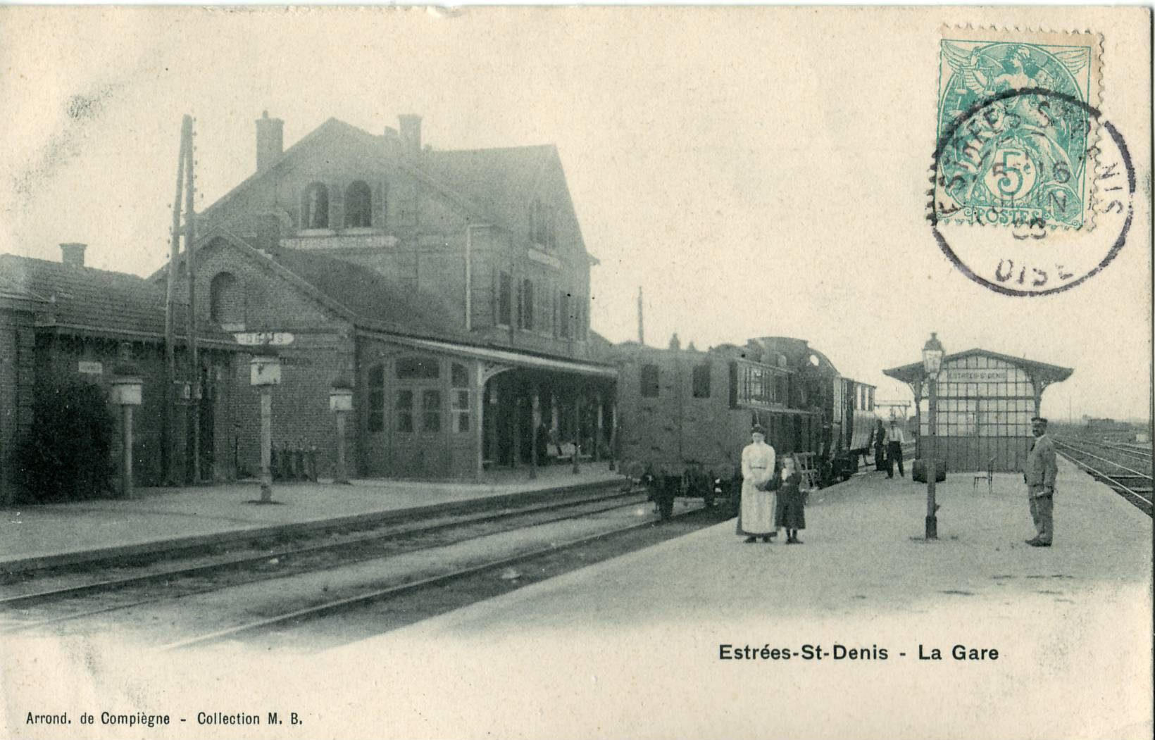 Estació d'Estrées-Saint-Denis
