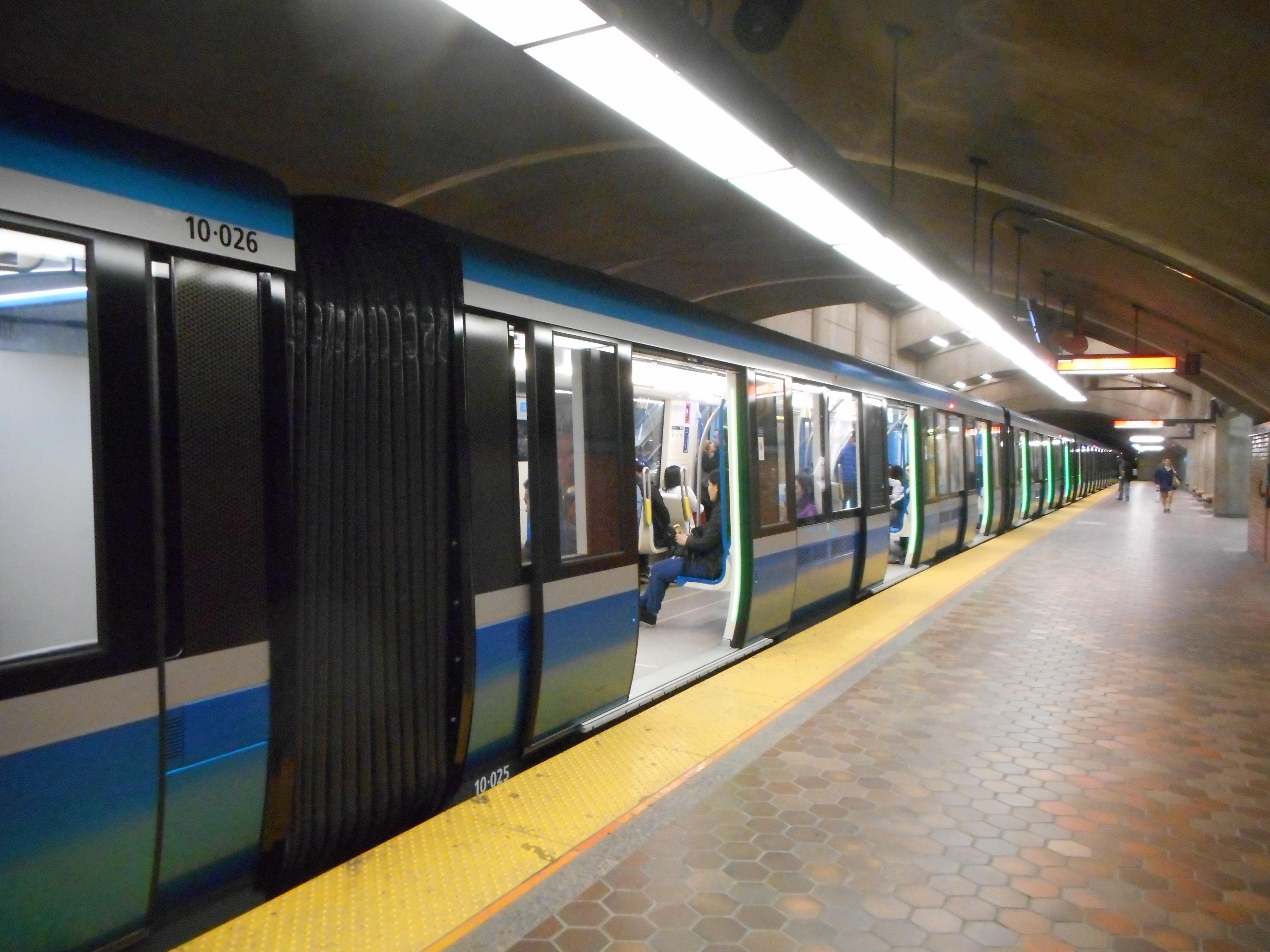 MPM-10 du métro de Montréal.