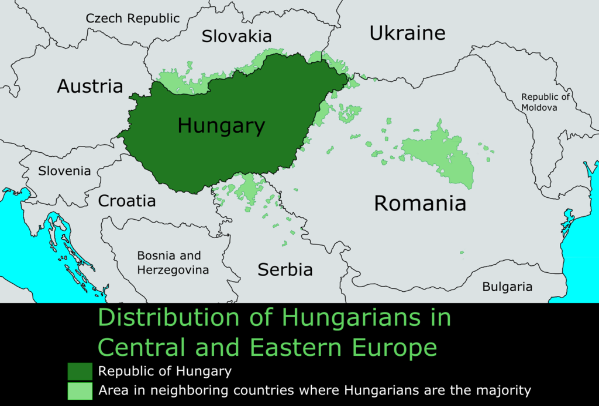 Hungarian diaspora - Wikipedia