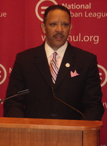 Alpha Phi Alpha member Marc Morial is the CEO of the National Urban League.