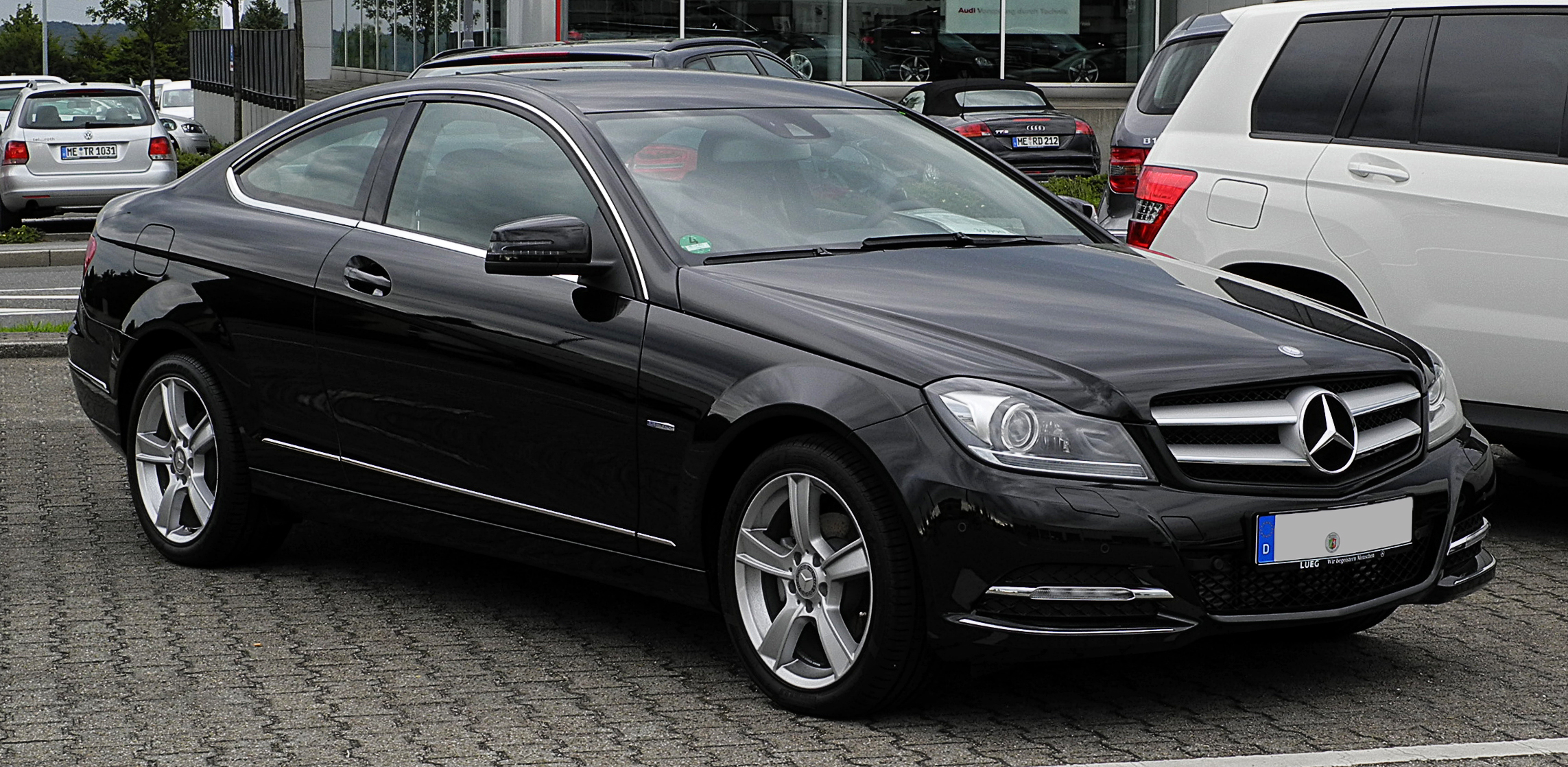 file mercedes benz c 180 blueefficiency coup c 204 frontansicht 2 10 juli 2011 velbert. Black Bedroom Furniture Sets. Home Design Ideas