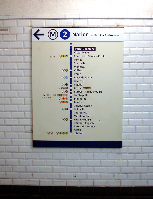 File:Metro de Paris - Ligne 2 - Porte Dauphine - Plan de ligne.jpg ...