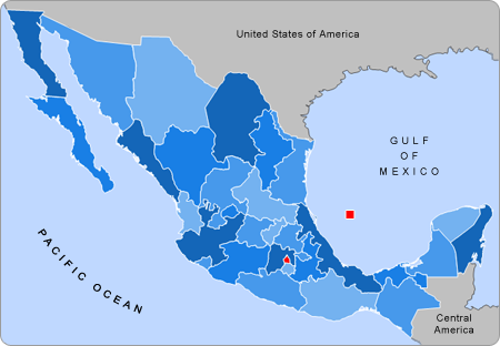 List Of States Of Mexico Wikipedia