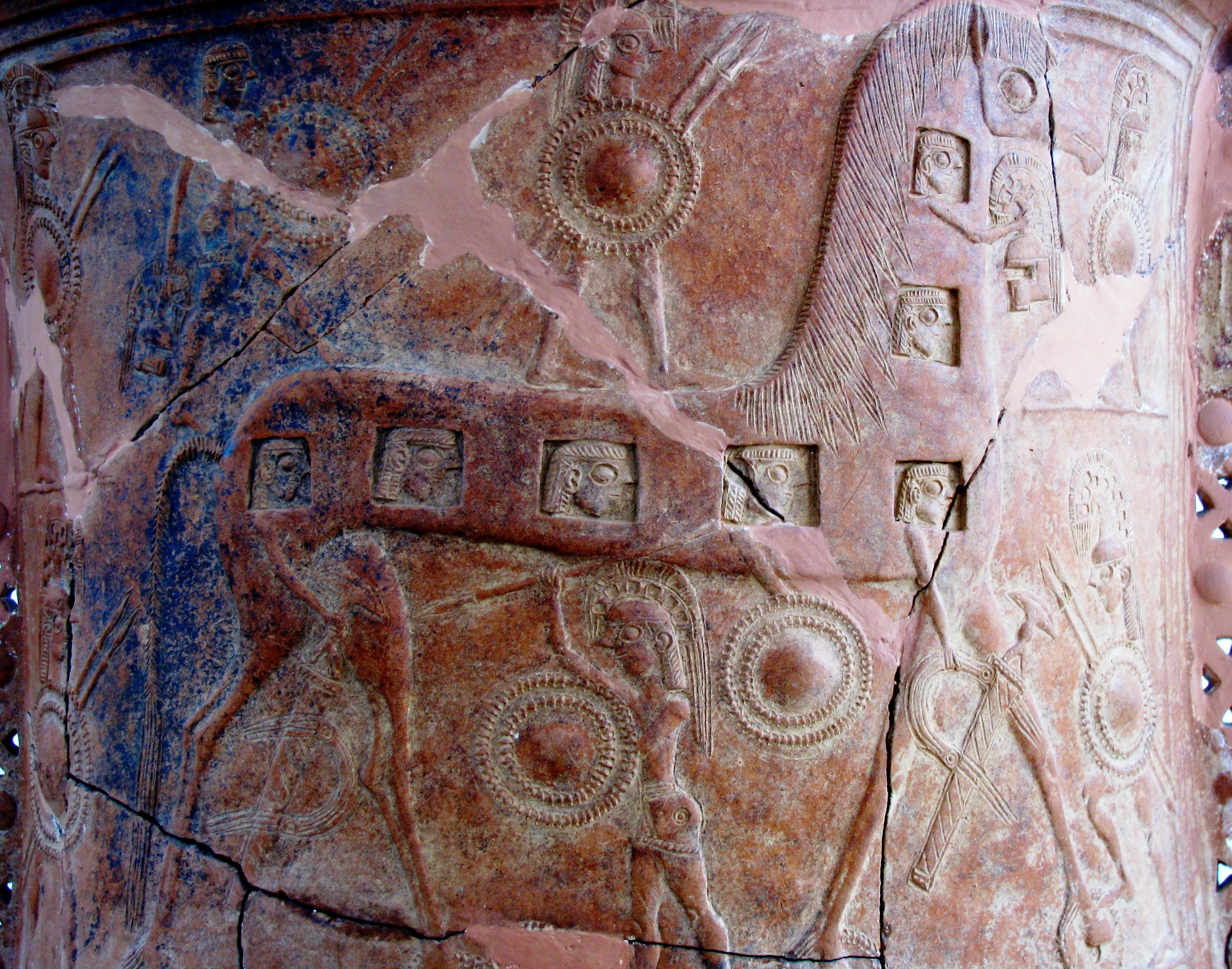 Depiction of Caballo de Troya