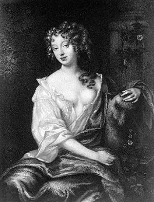 Nell Gwyn engraved by Thomas Wright after a painting by Peter Lely (1618-1680) Nell Gwyn 02.jpg