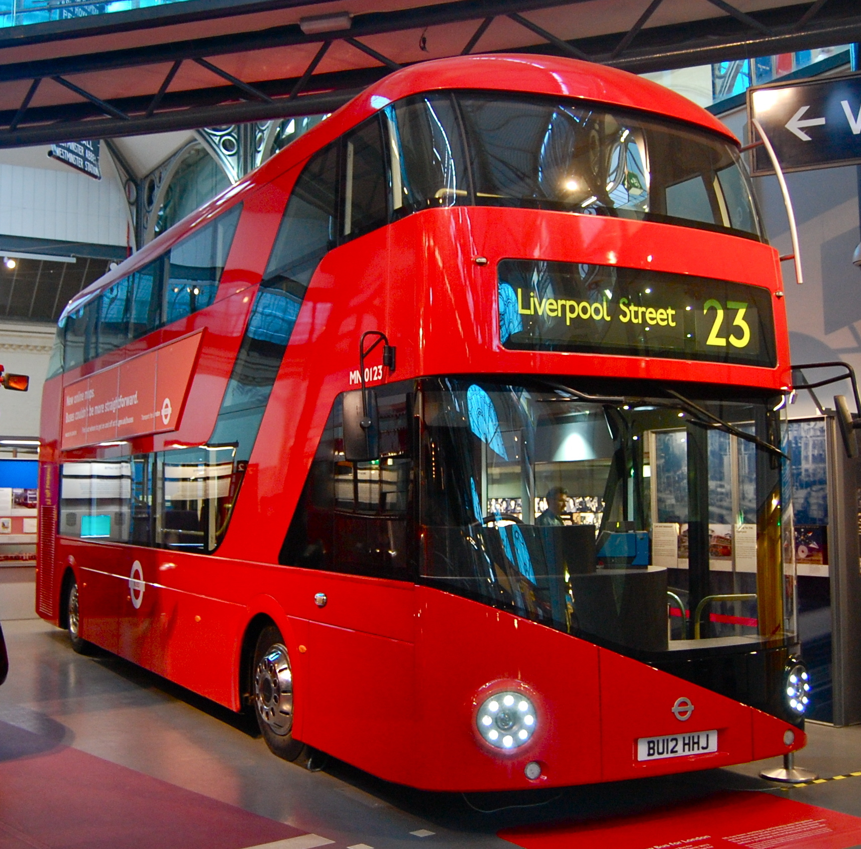 File New Bus For London Mock Up Mn0123 Bu12 Hhj London