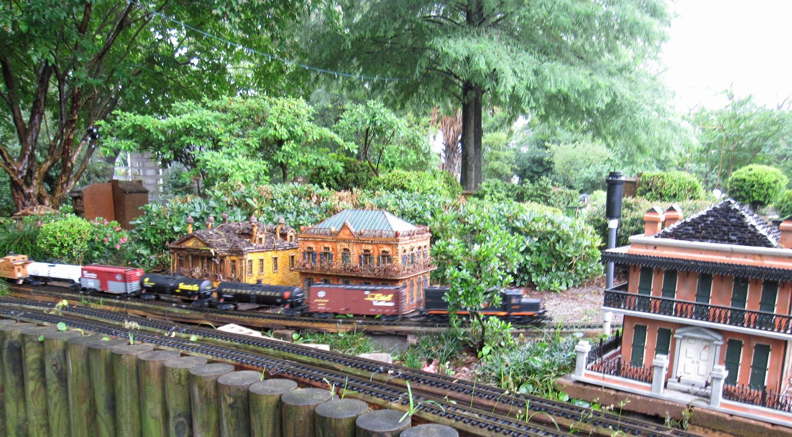 File New Orleans Botanical Garden Train