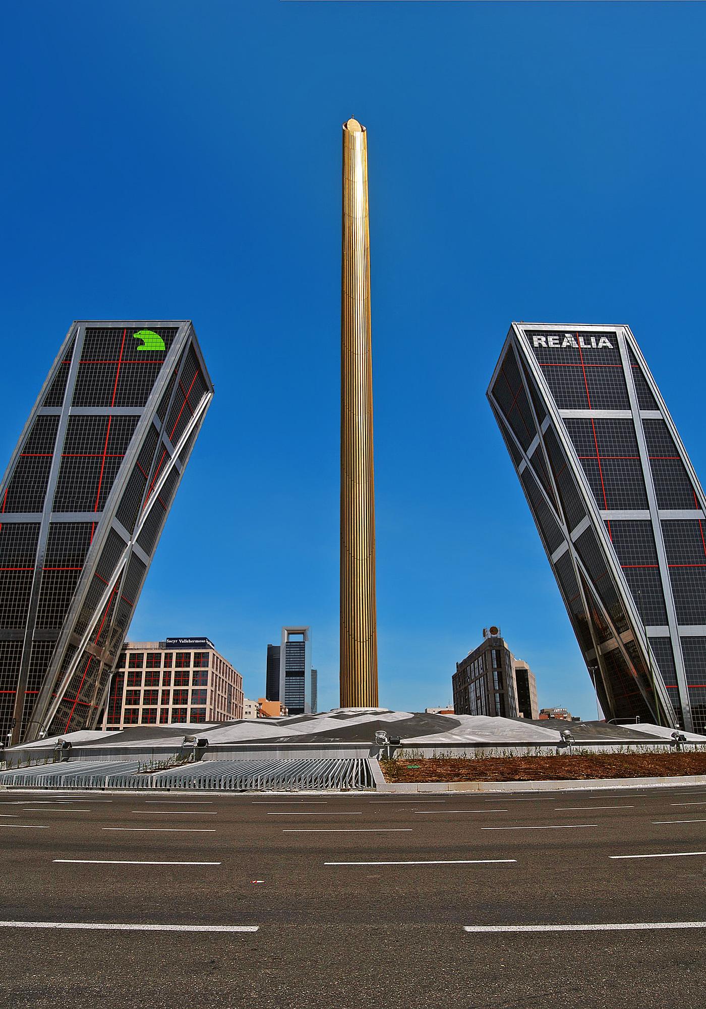Espa a madrid skyscrapercity - Sede mutua madrilena ...
