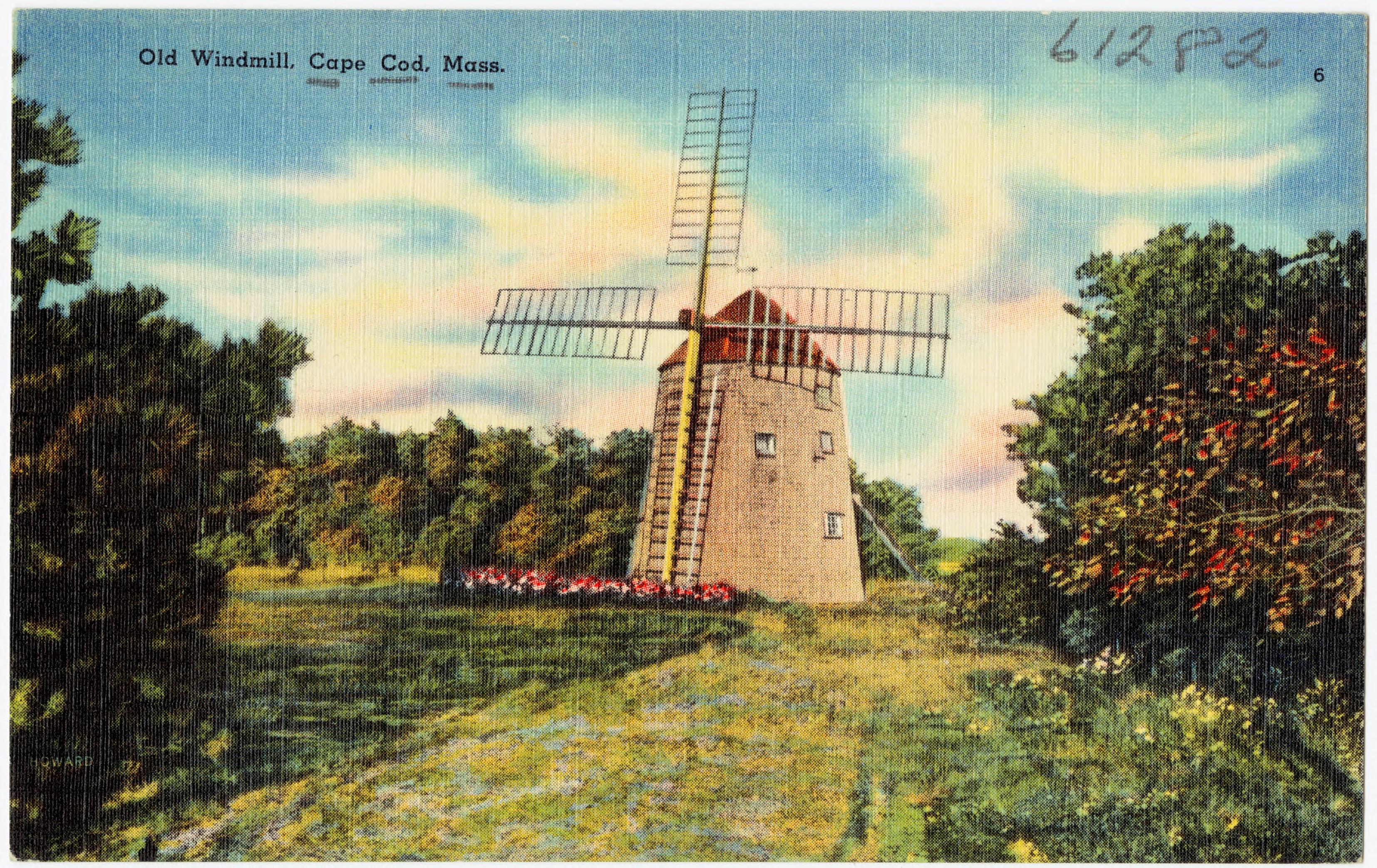 Windmill Cape Cod Part - 31: File:Old Windmill, Cape Cod, Mass (61282).jpg