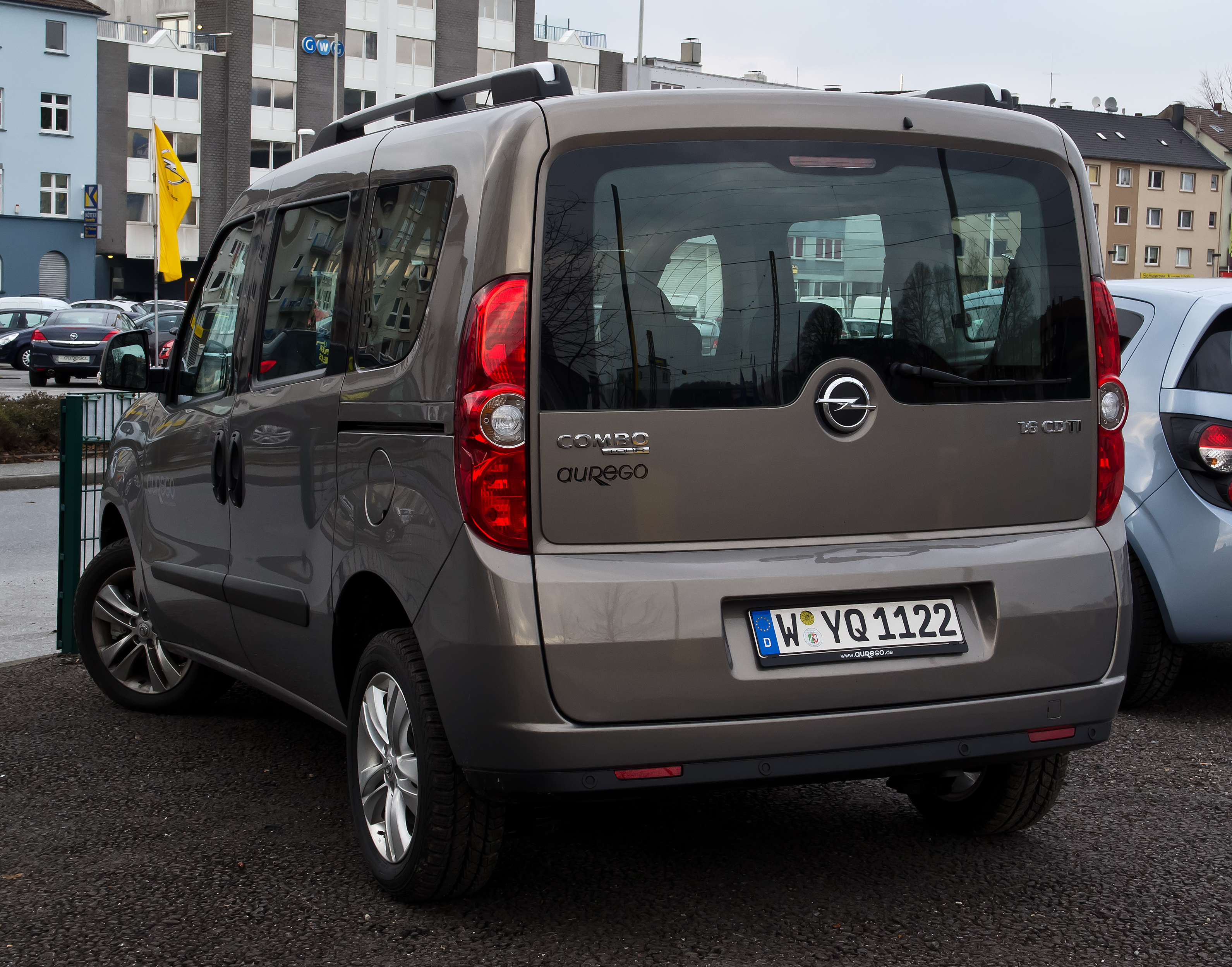 file opel combo 1 6 cdti edition d heckansicht 18 m rz 2012 wikipedia. Black Bedroom Furniture Sets. Home Design Ideas