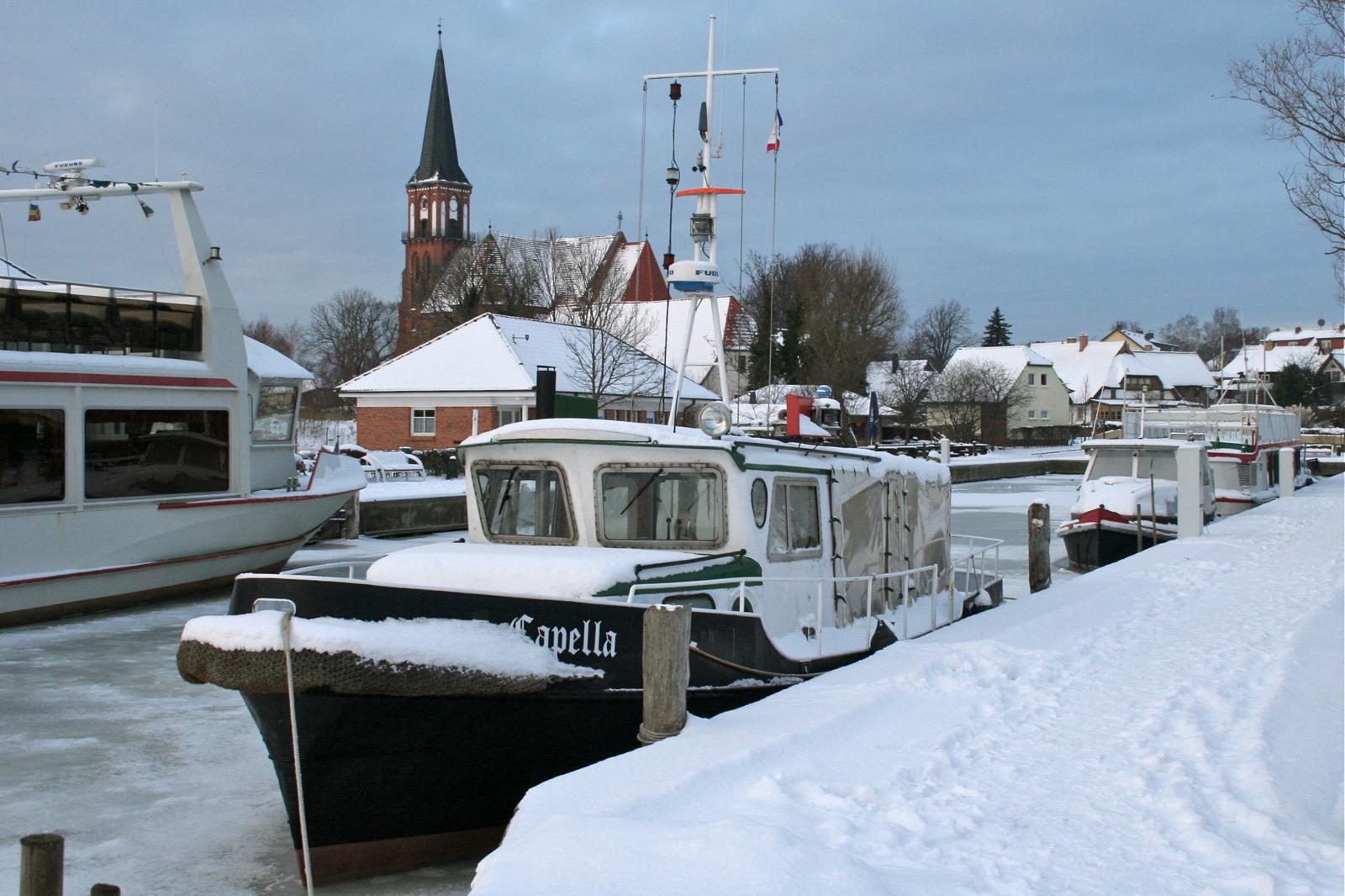 Wustrow - Ostseebad Germany  City pictures : Datei:Ostseebad wustrow hafen winter 2009 – Wikipedia