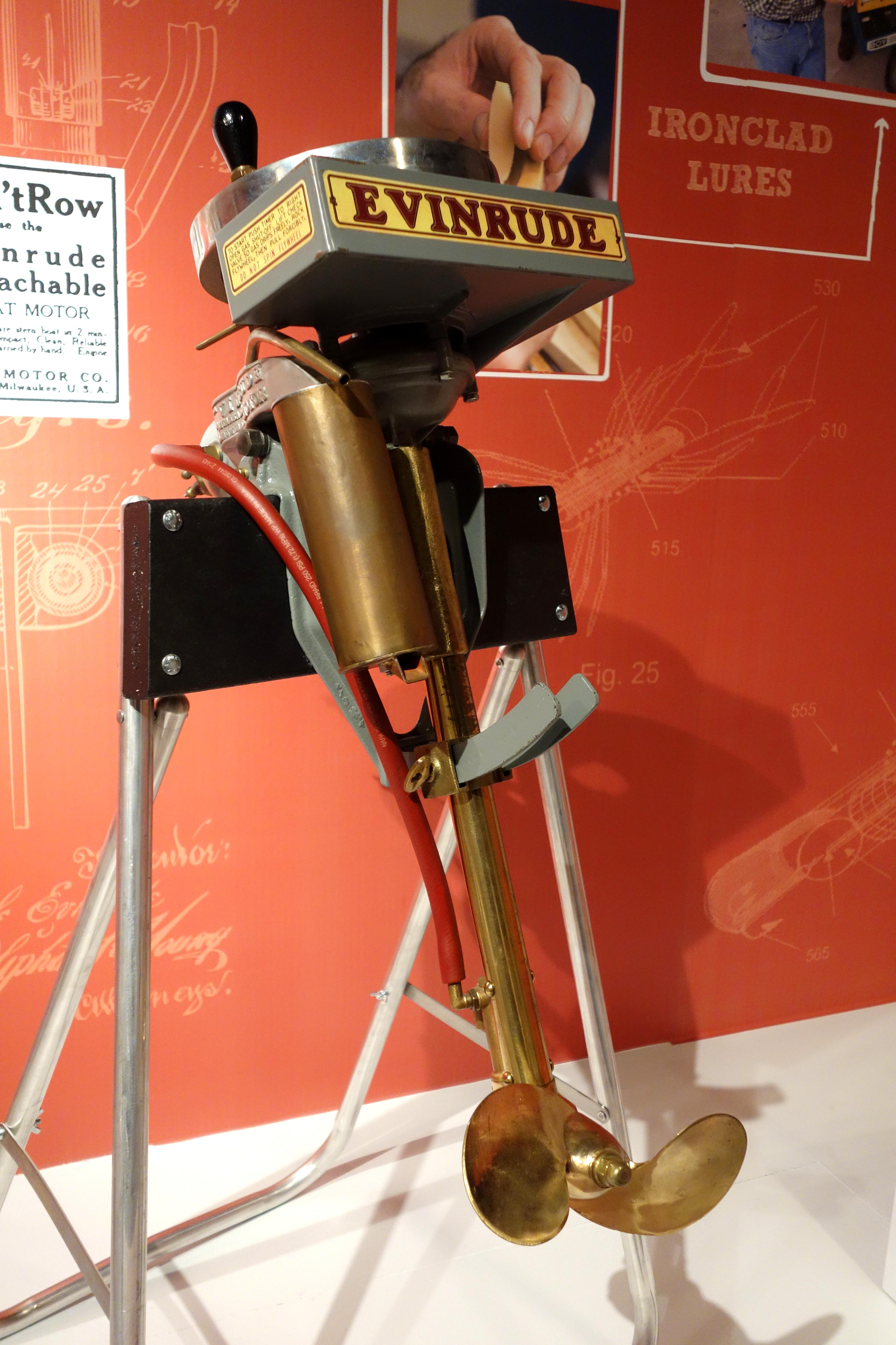 File Outboard Motor Evinrude Motor Company Milwaukee