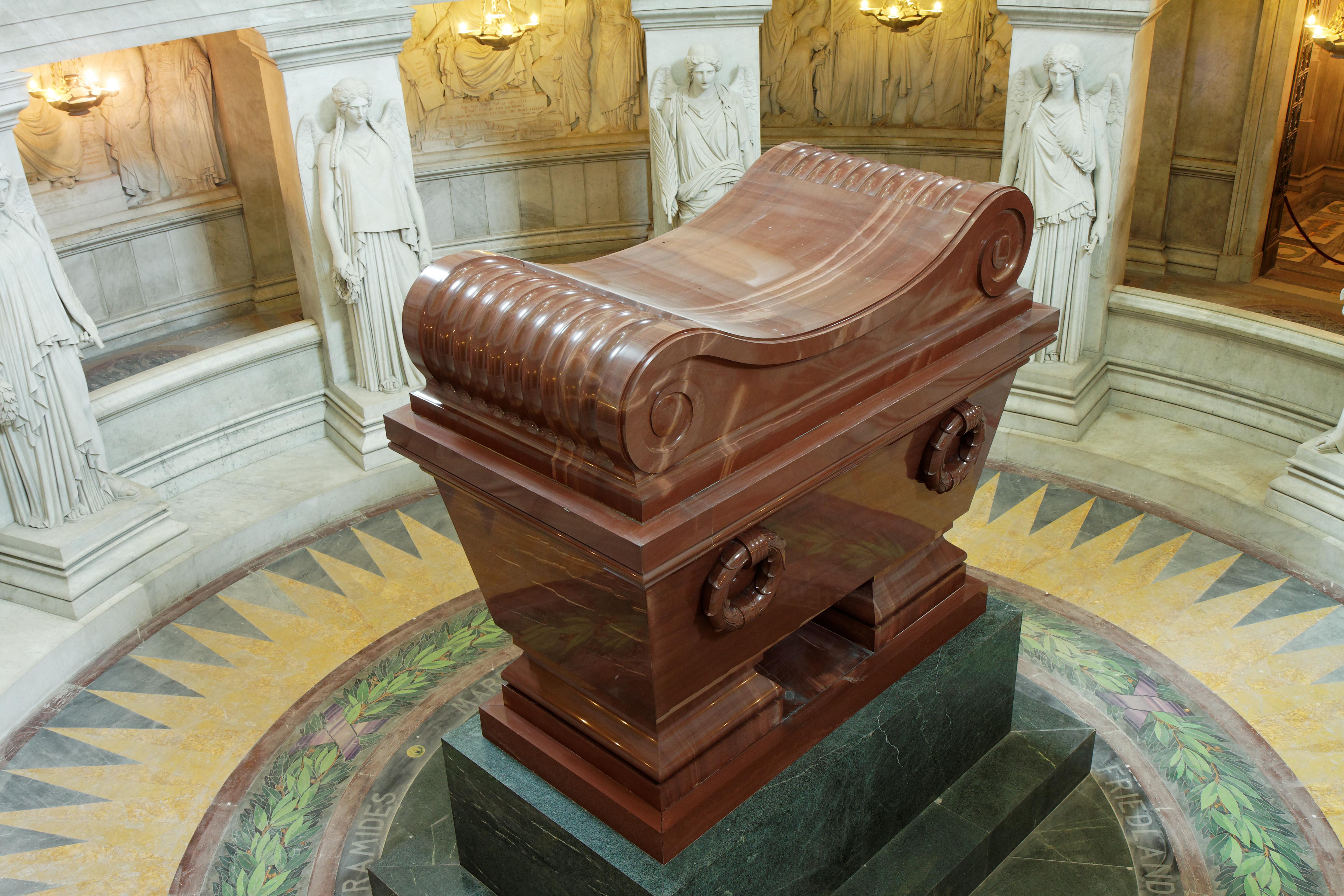 Description paris d 244 me des invalides tombeau de napol 233 on 002