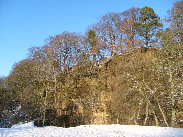 Peckriding Crag, Isaac's Tea Trail - geograph.org.uk - 1633072