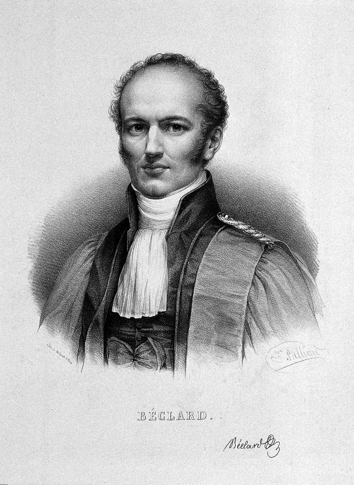 Portrait de Pierre-Augustin Béclard