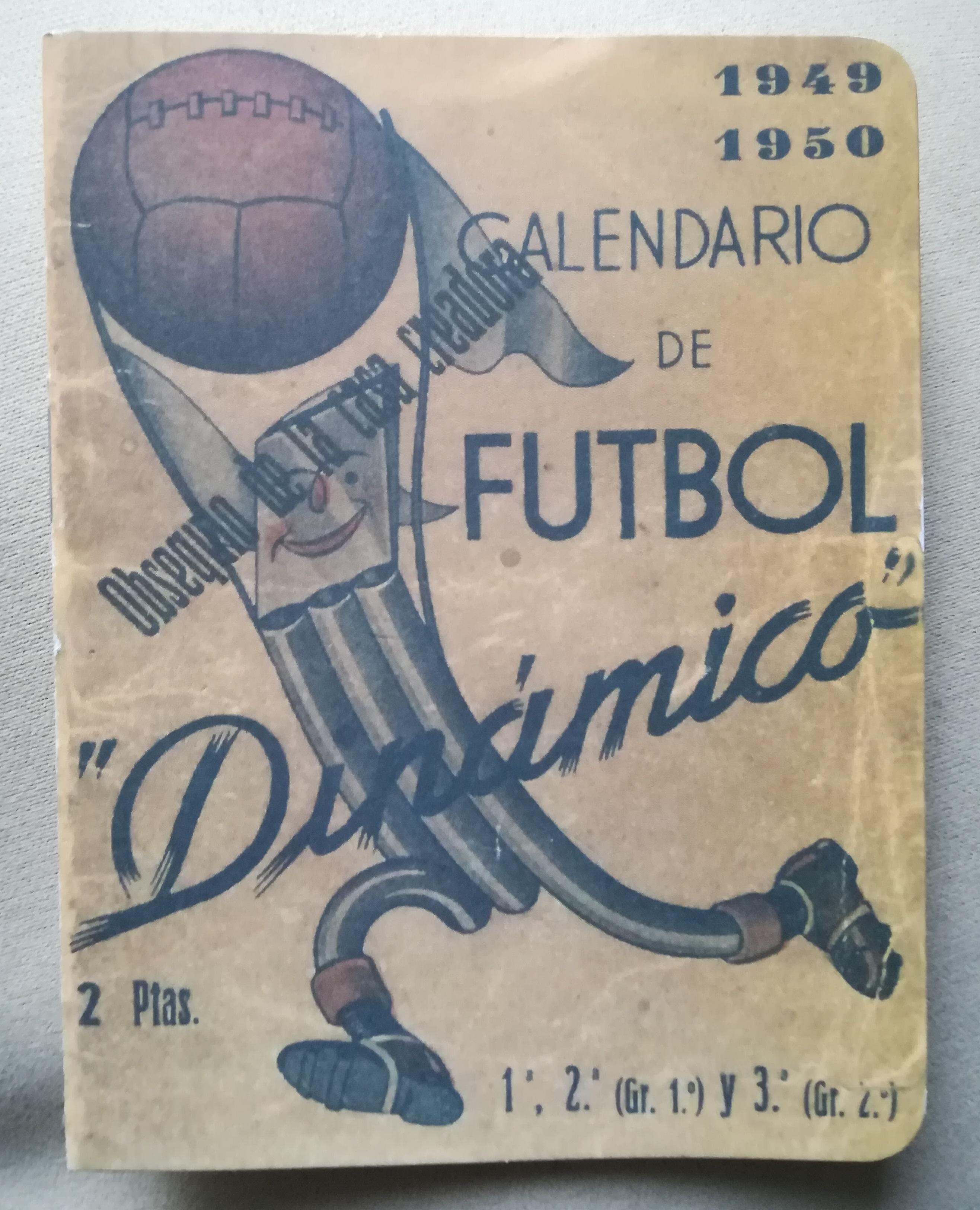 Calendario 1949.Archivo Primer Calendario Dinamico De La Temporada 1949 50