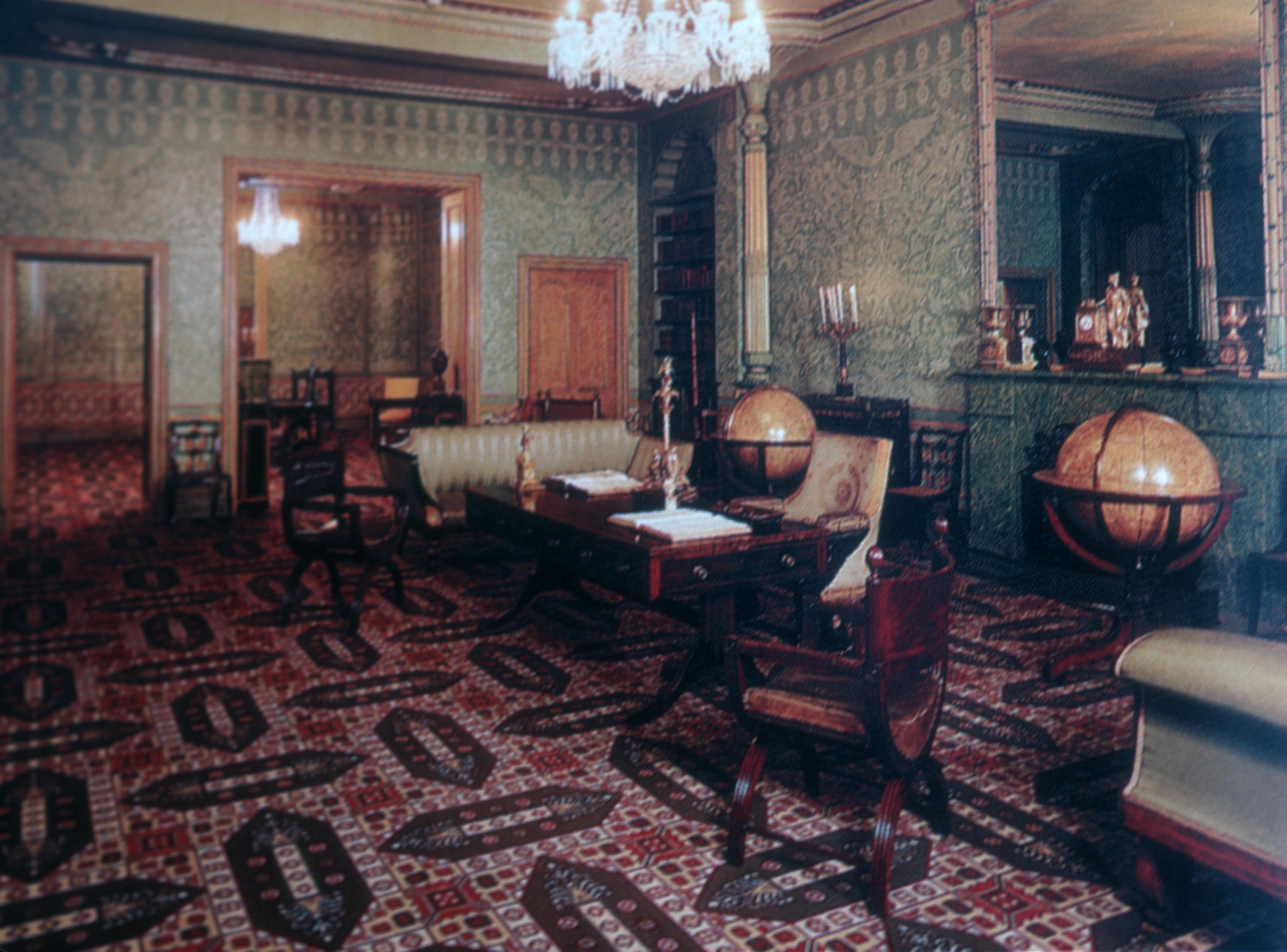 File Royal Pavilion Interior Brighton England Jpg