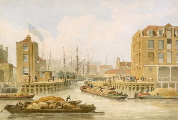 Afbeelding van ingang van het kanaal