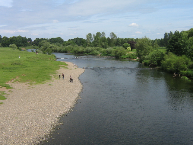 River Eden From Eden Bridge - geograph.org.uk - 838244