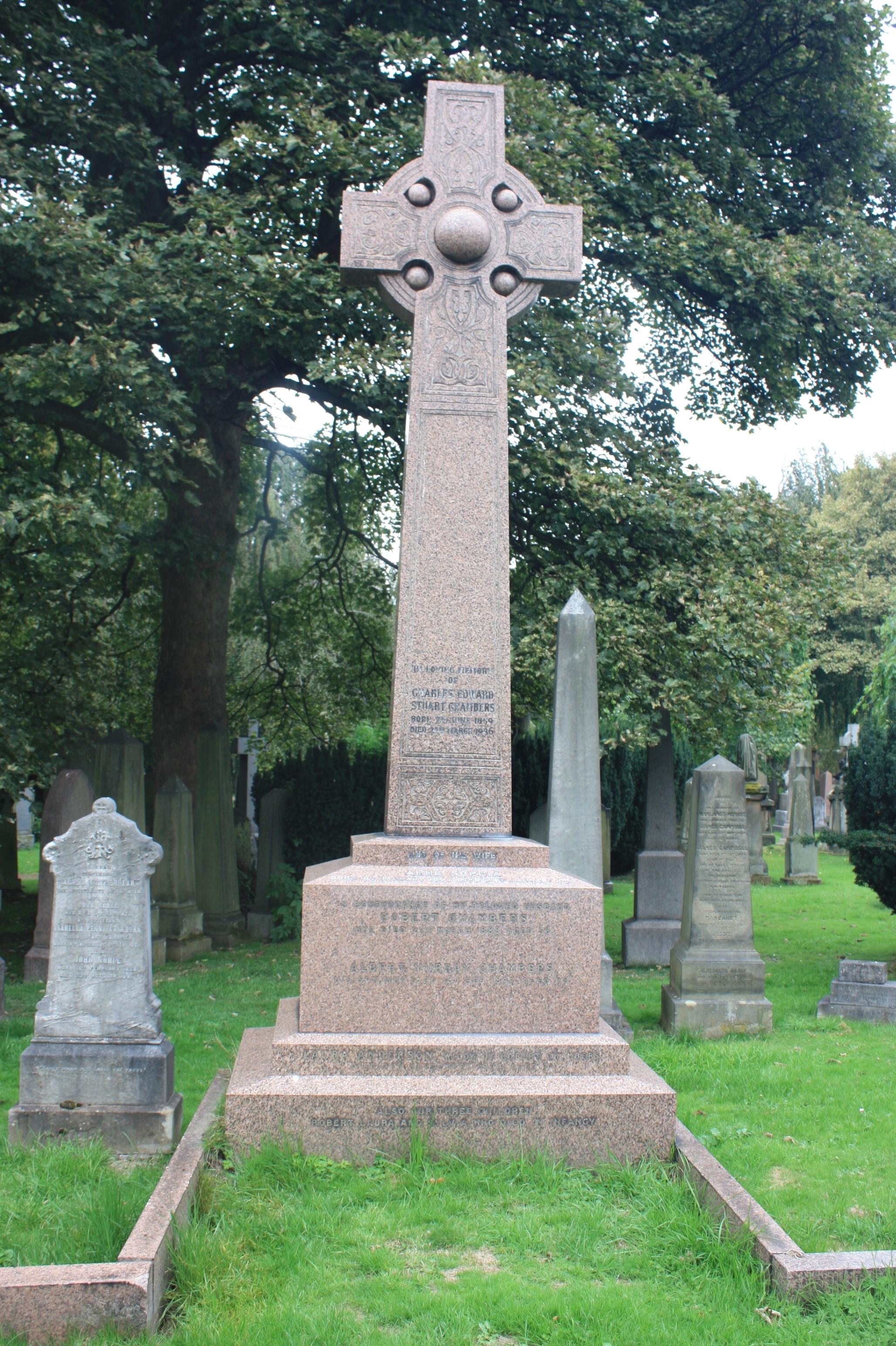 https://upload.wikimedia.org/wikipedia/commons/5/51/Robert_Chambers%27_grave%2C_Dean_Cemetery.JPG