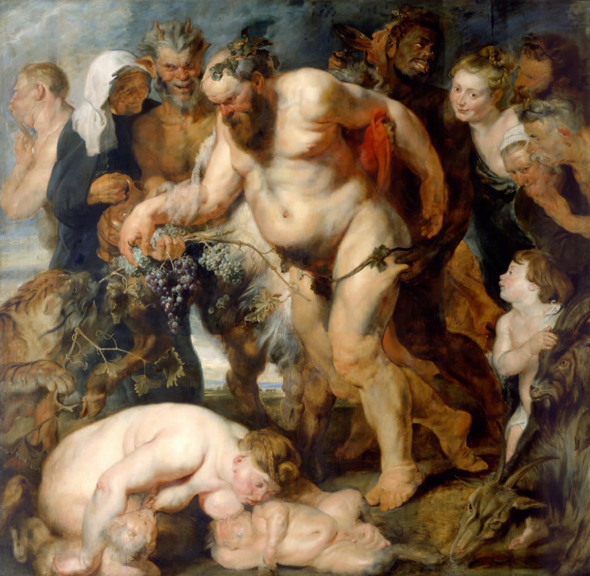 Rubens Der trunkene Silen