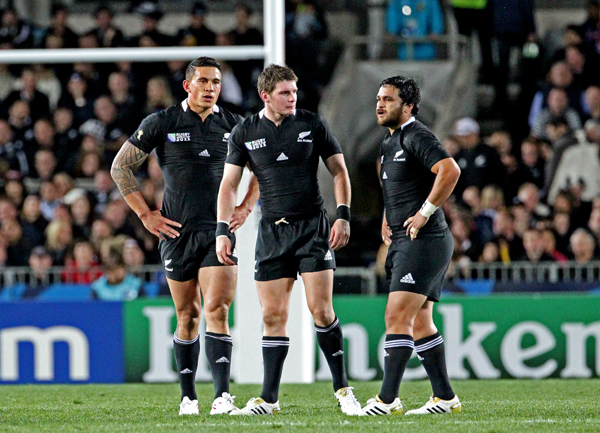 New Zealand v Argentina 2011 Rugby World Cup