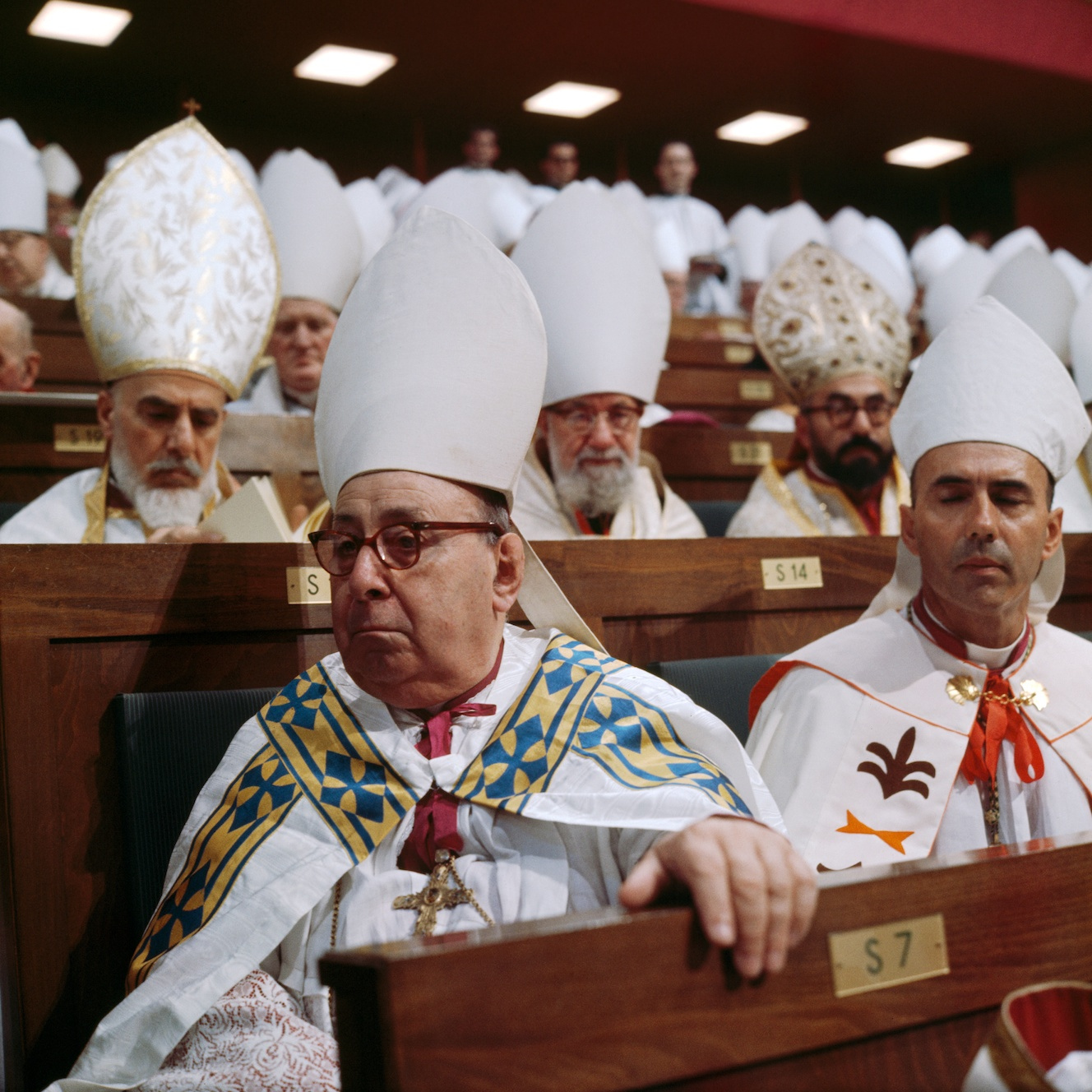 Second_Vatican_Council_by_Lothar_Wolleh_