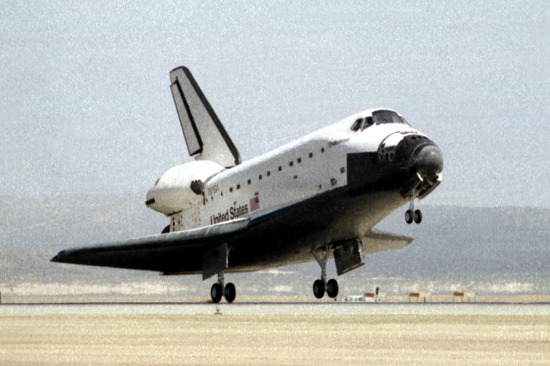 Image result for sts-67 landing