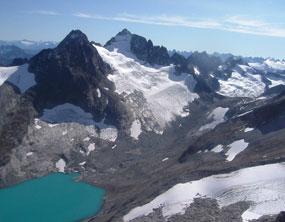 Silver Glacier glacier in Washington state, United States