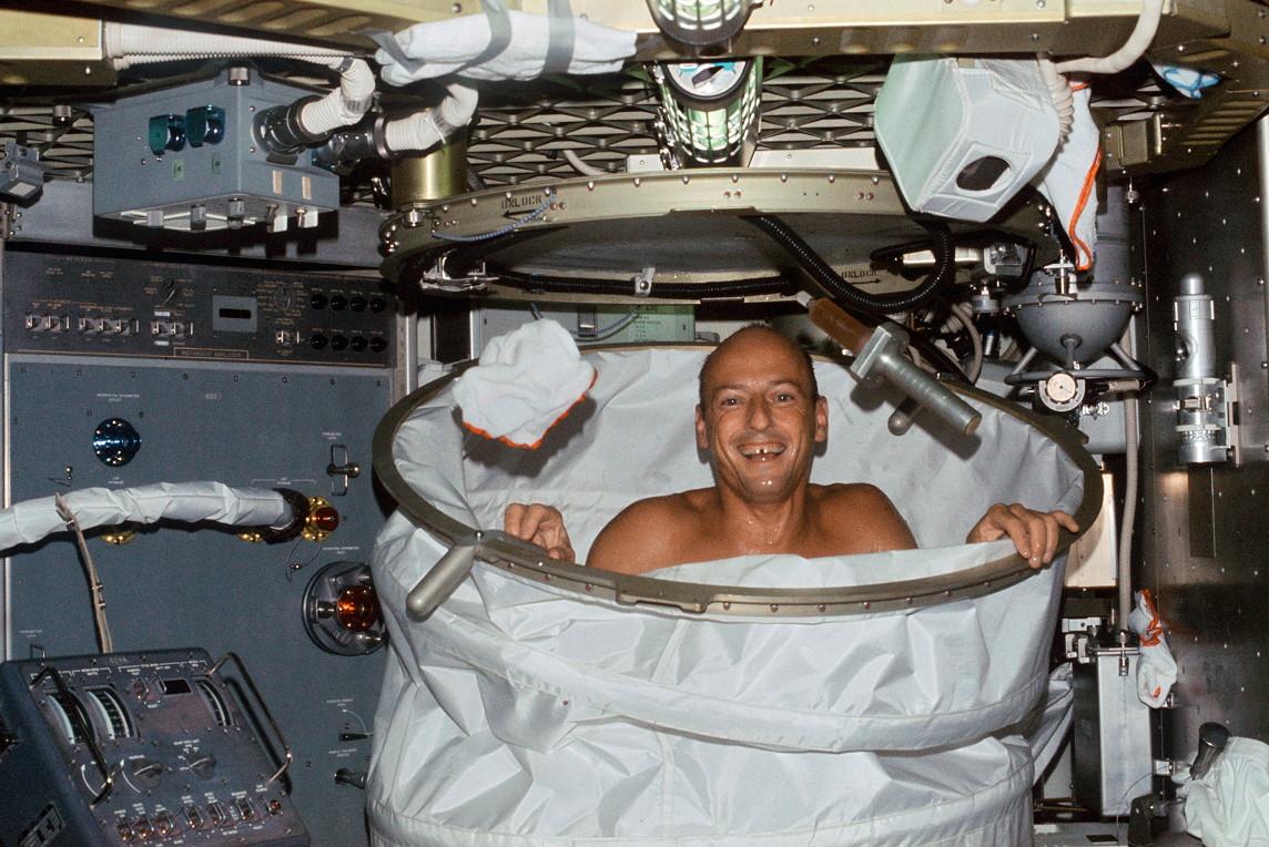 Skylab_2_Conrad_in_shower.jpg