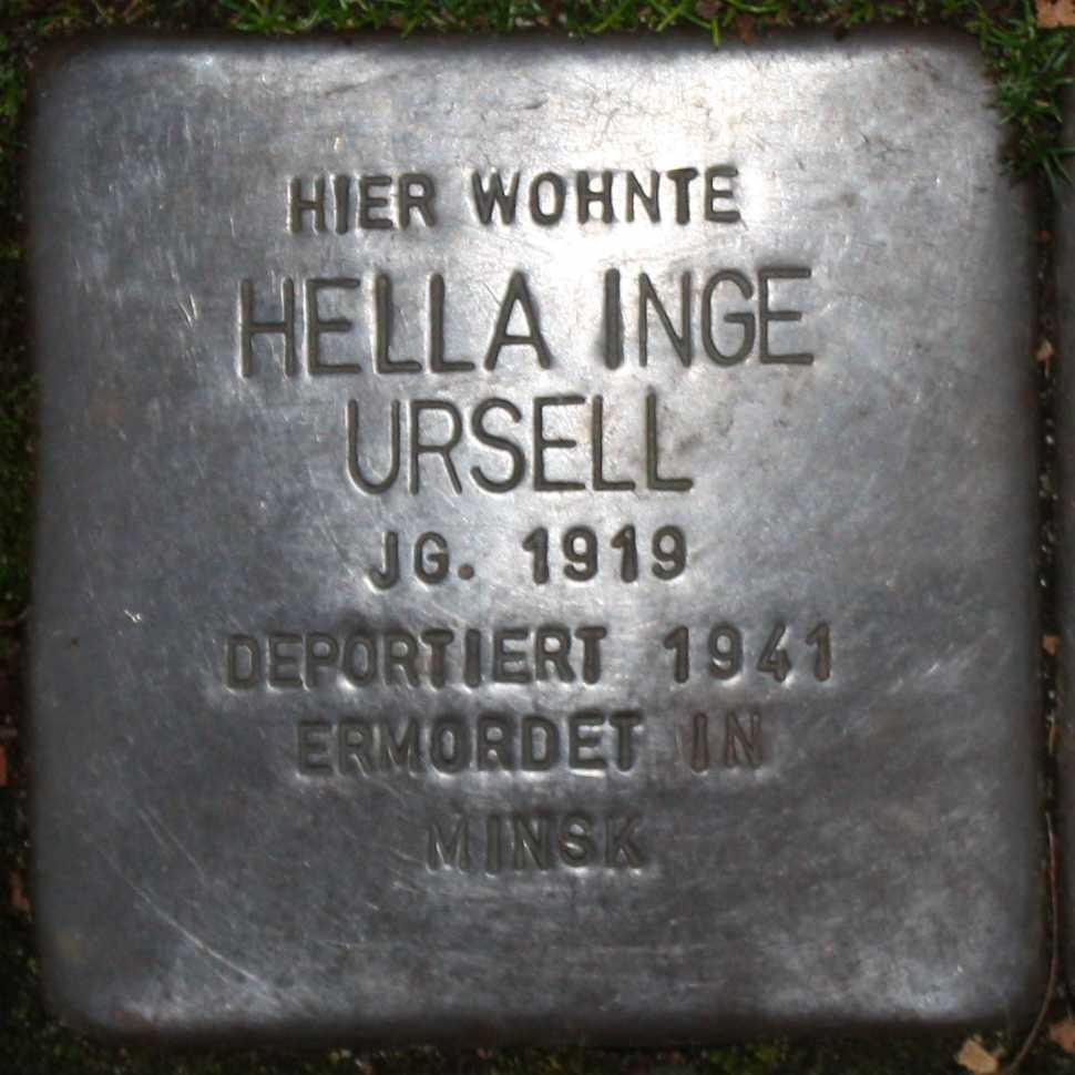 Stolperstein Hella Inge Ursell Wuppertal 970.jpg